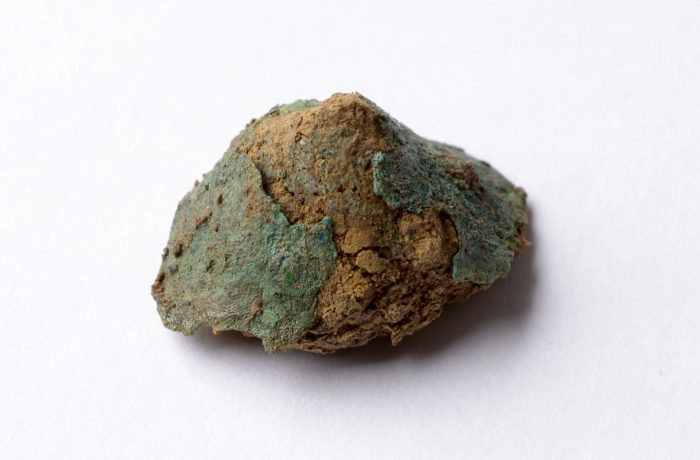 Blechtutulus aus Grab 10 Blankenburg