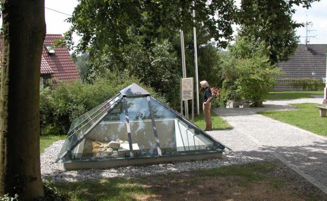 Diedorf Tuffsteingruft-heute