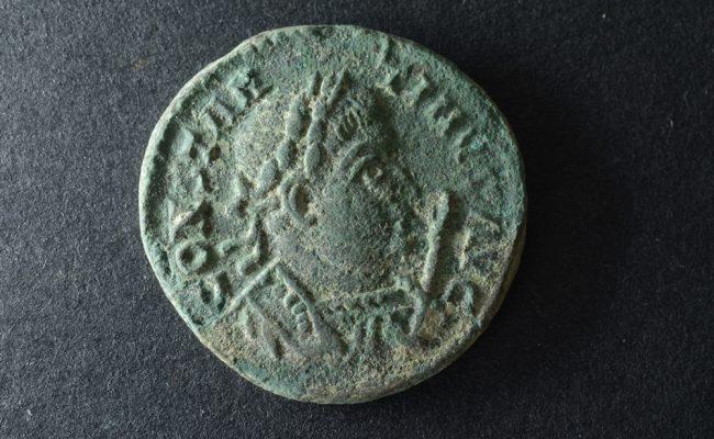 römische-münze-nordendorf-vorderseite