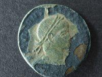 Römische Münze aus Nordendorf