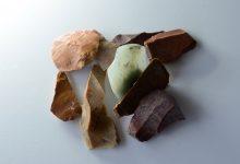 Mikrolithen aus dem Mesolithikum