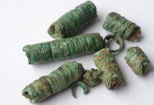 Spiralröhrchen aus Grab 6 Blankenburg