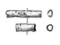 Blechröhrchen, Zier der Bronzezeit