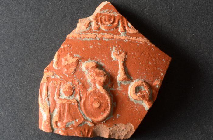 TS Reliefschüssel mit Centurio