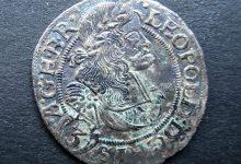 Silbermünze für Kaiser Leopold I.